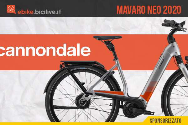 Bici elettrica da città Cannondale Mavaro Neo 2020