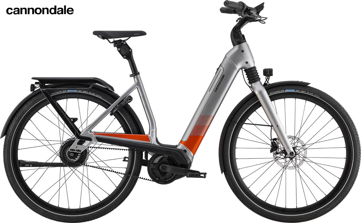 Modello di bici elettrica Cannondale Mavaro Neo 2020 colorazione Grey