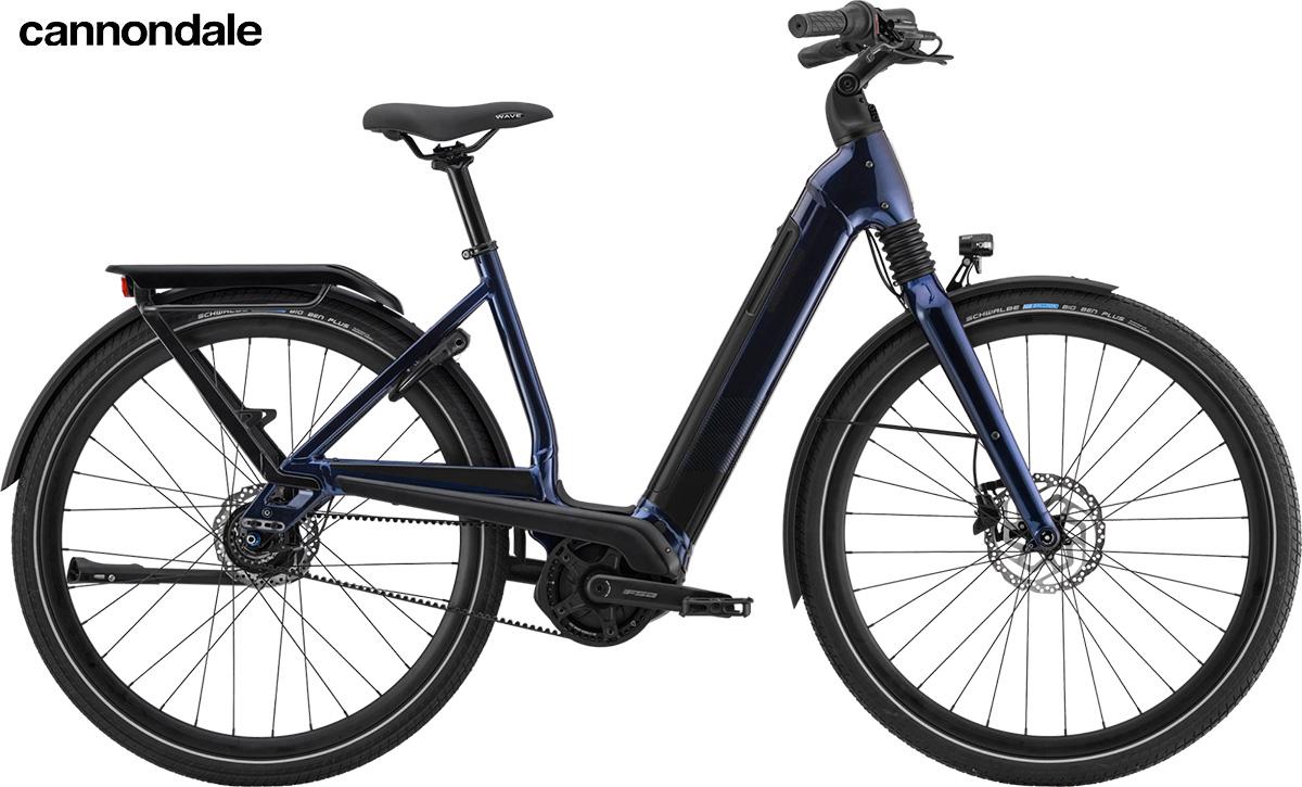 Modello di pedelec Cannondale Mavaro Neo 2020 color Midnight Blue