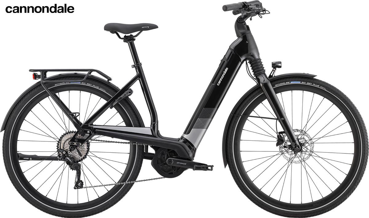 Modello di e-bike Cannondale Mavaro Neo 2020 Plus color Black Pearl