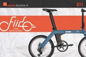copertina articolo ebike pieghevole fido D11 modello 2020