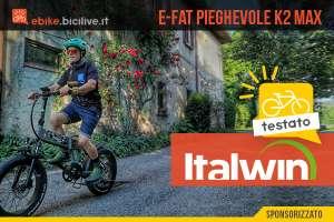 Foto della Italwin K2 MAX guidata da Claudio Riotti.