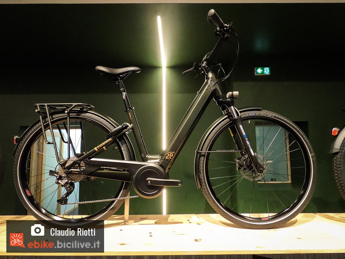 Una delle e-bike 2020 da città  di Moustache Bikes