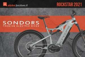 La nuova eMTB full suspended Sondors Rockstar: batteria da 1000Wh motore Bafang