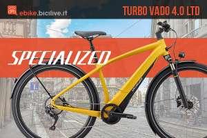 Ebike urbana Specialized Turbo Vado 4.0 LTD 2020