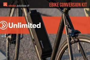 Kit conversione ebike Unlimited 2020