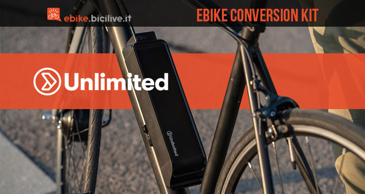 Kit conversione ebike Unlimited 2020