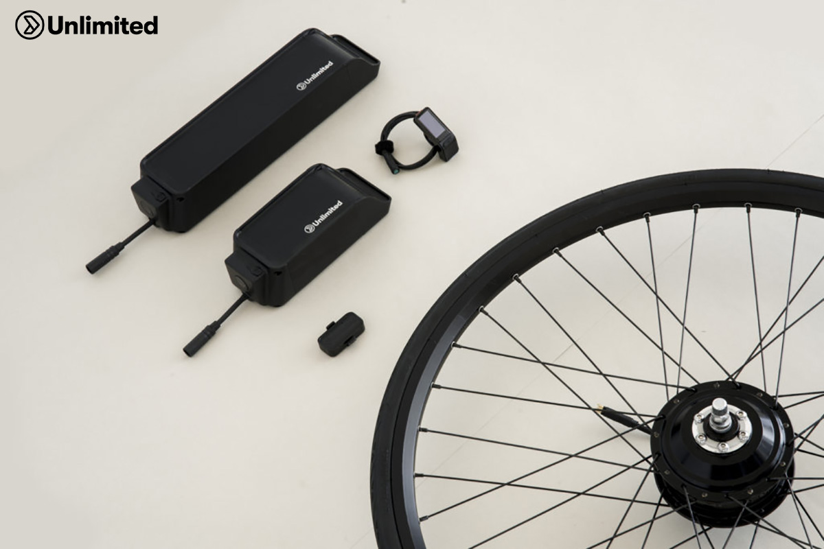 kit conversione ebike unlimited versione xr+