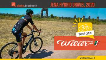 Copertina ebike Wilier Triestina Jena Hybrid 2020 gravel