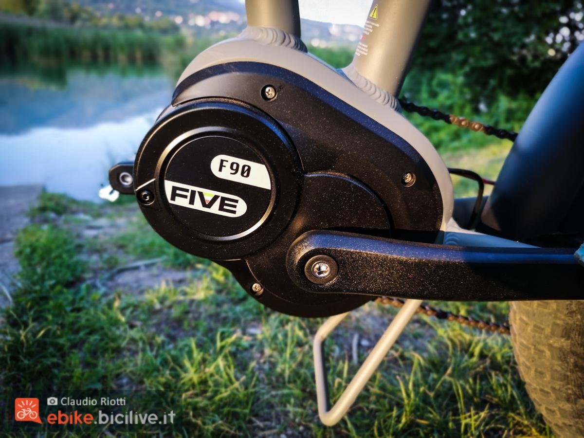 Foto del motore FIVE da 90 Nm