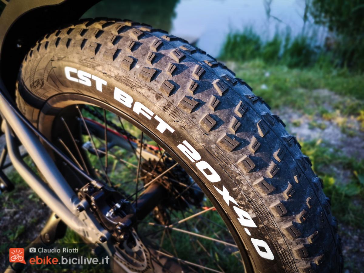 Foto delle ruote fat della Italwin K2 MAX