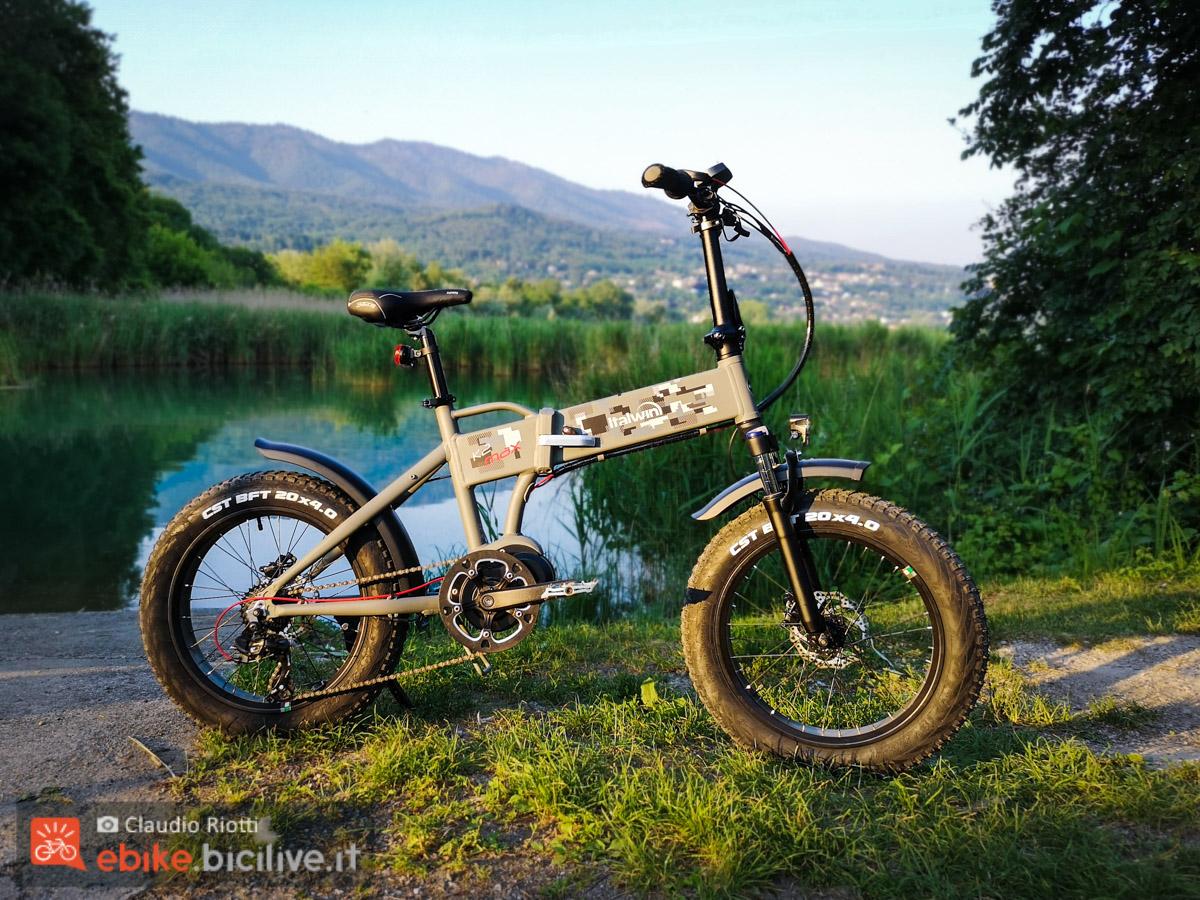 Foto della 2 MAX di Italwin è una fat bike elettrica pieghevole
