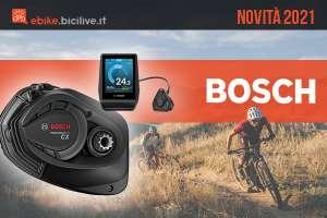 Novità e aggiornamenti 2021 delle tecnologie per ebike di Bosch