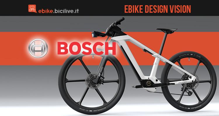 Concept ebike vision di Bosch 2020