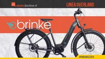 Brinke Overland: eTrekking Di2 o XT versione Sport e Comfort