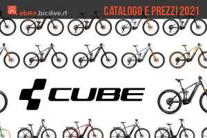 Le nuove bici elettriche 2021 di Cube: catalogo e listino prezzi