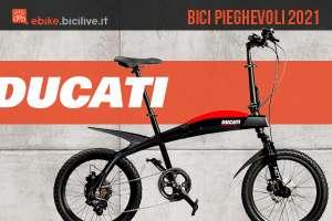 Ducati: 3 nuove bici elettriche pieghevoli per la città