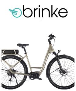 Bicicletta a pedalata assistita da città Brinke