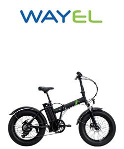 Bicicletta pieghevole a pedalata assistita da città Wayel