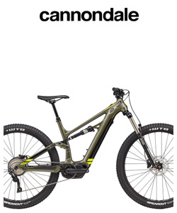 Mountain bike elettrica di Cannondale
