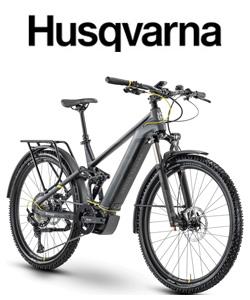 Bici elettrica da trekking Husqvarna