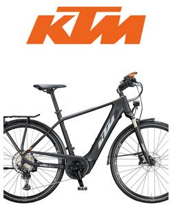 Bici elettrica da trekking KTM
