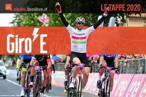 Le tappe del Giro-E 2020