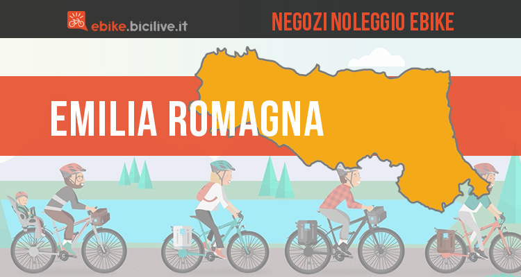 Noleggio bici elettriche in Emilia Romagna