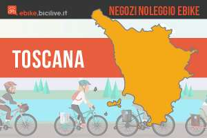 Negozi dove noleggiare bici elettriche in Toscana