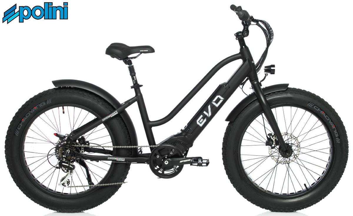 Il modello ebike Badbike EVO con motore Polini