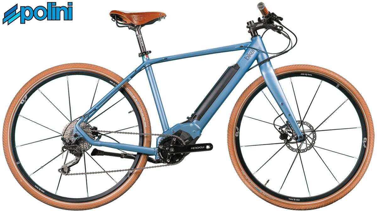 La bici elettriche Bikel Urban+ che monta motore Polini