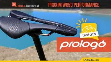 Test BiciLive della nuova sella per eMtb Prologo W650 Performance 2020