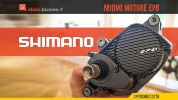 Nuovo motore per ebike Shimano EP8 2020