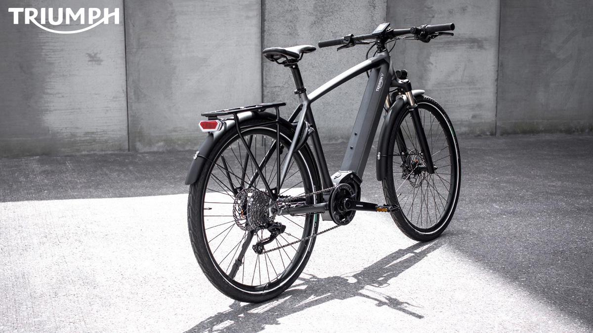 Una e-bike Triumph Trekker GT 2021