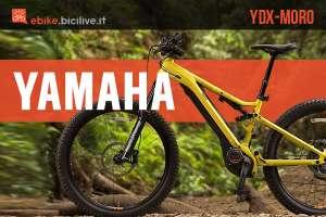 Nuova ebike Yamaha YDX-Moro 2020