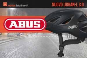 Il nuovo casco per biciclette urbane Abus Urban-l 3.0