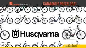 I nuovi modelli ebike 2021 del marchio Husqvarna