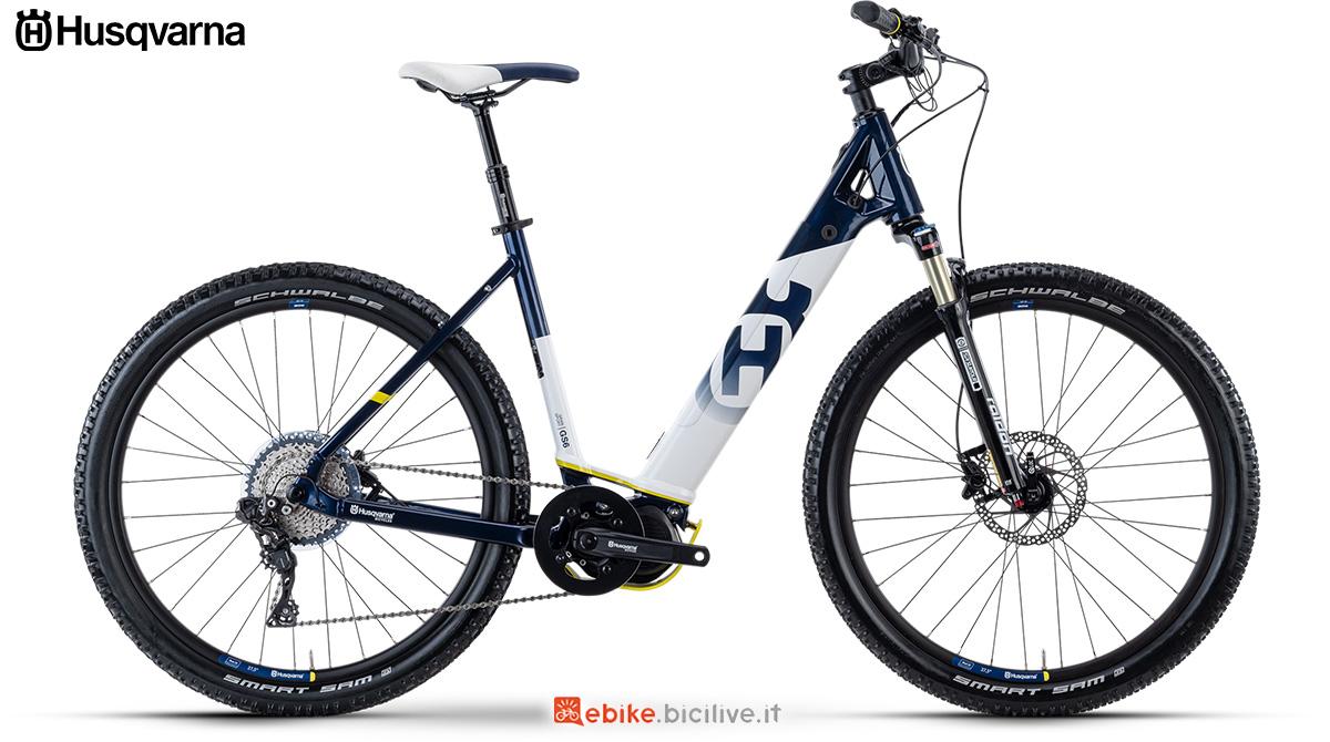 La nuova ebike da trekking 2021 Husqvarna Gran Sport 6