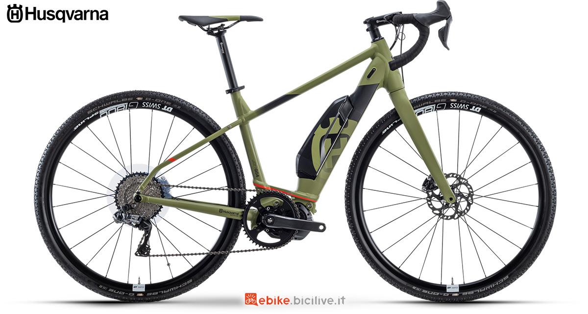 La nuova bici elettrica da gravel 2021 Husqvarna Gran Gravel 6