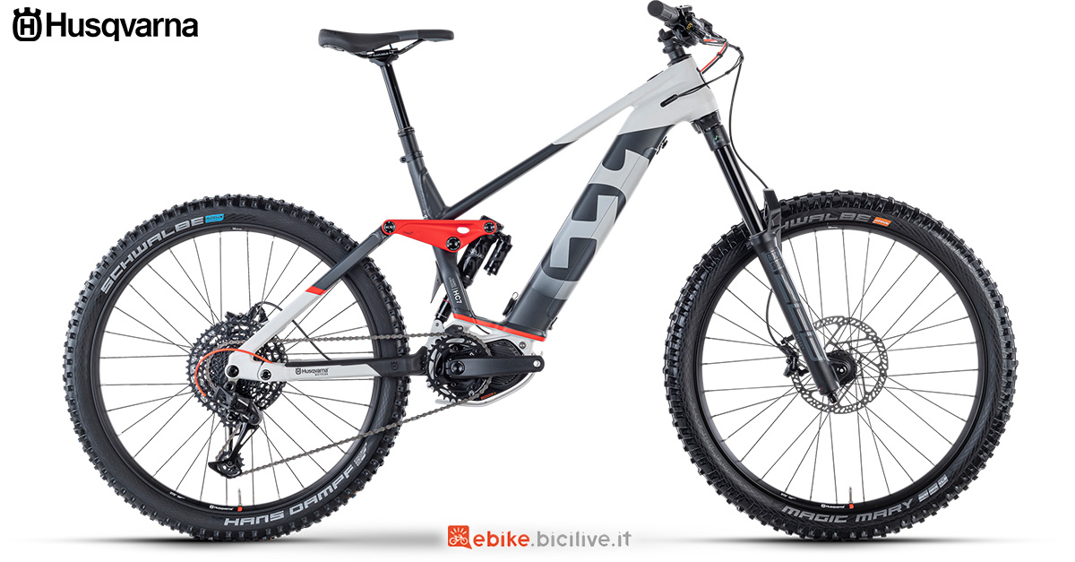 La nuova mountainbike elettrica 2021 Husqvarna Hard Cross 7