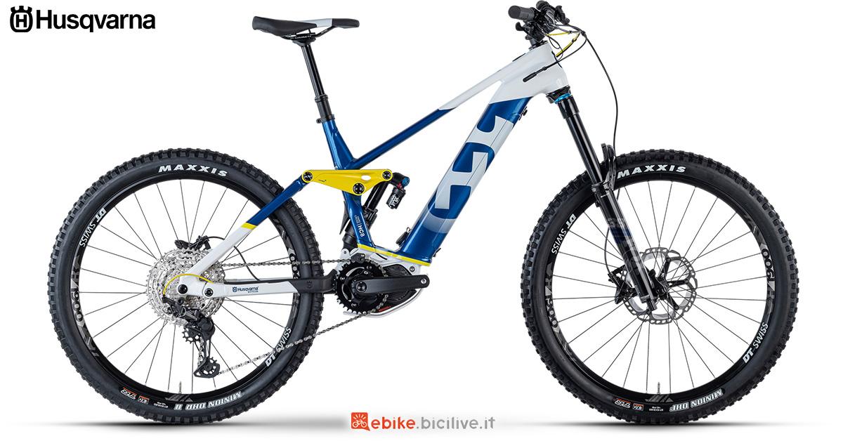 La nuova mountainbike elettrica 2021 Husqvarna Hard Cross 8