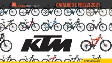 Il listino prezzi completo della nuova gamma di ebike KTM 2021