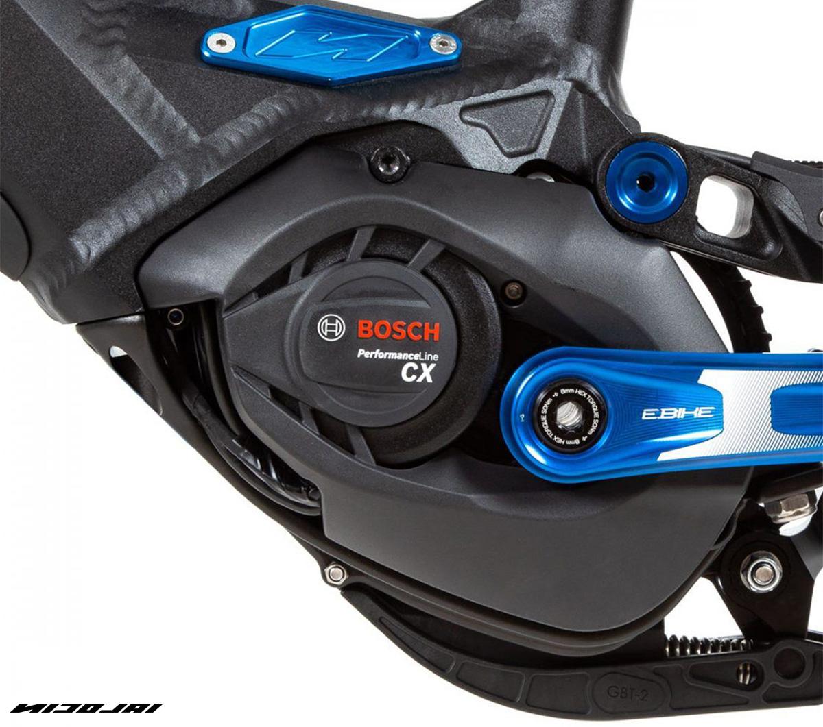 Il motore Bosch Performance Line CX montato sulla Nicola G1 EBOXX E14