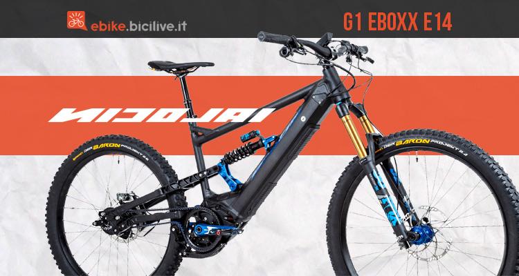 Nicolai G1 EBOXX E14: eMTB cambio elettronico nel mozzo