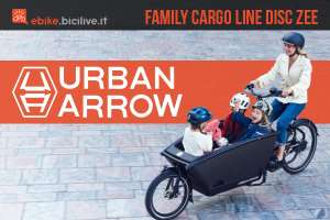 La nuova cargo ebike Urban Arrow Family Cargo Line 2020