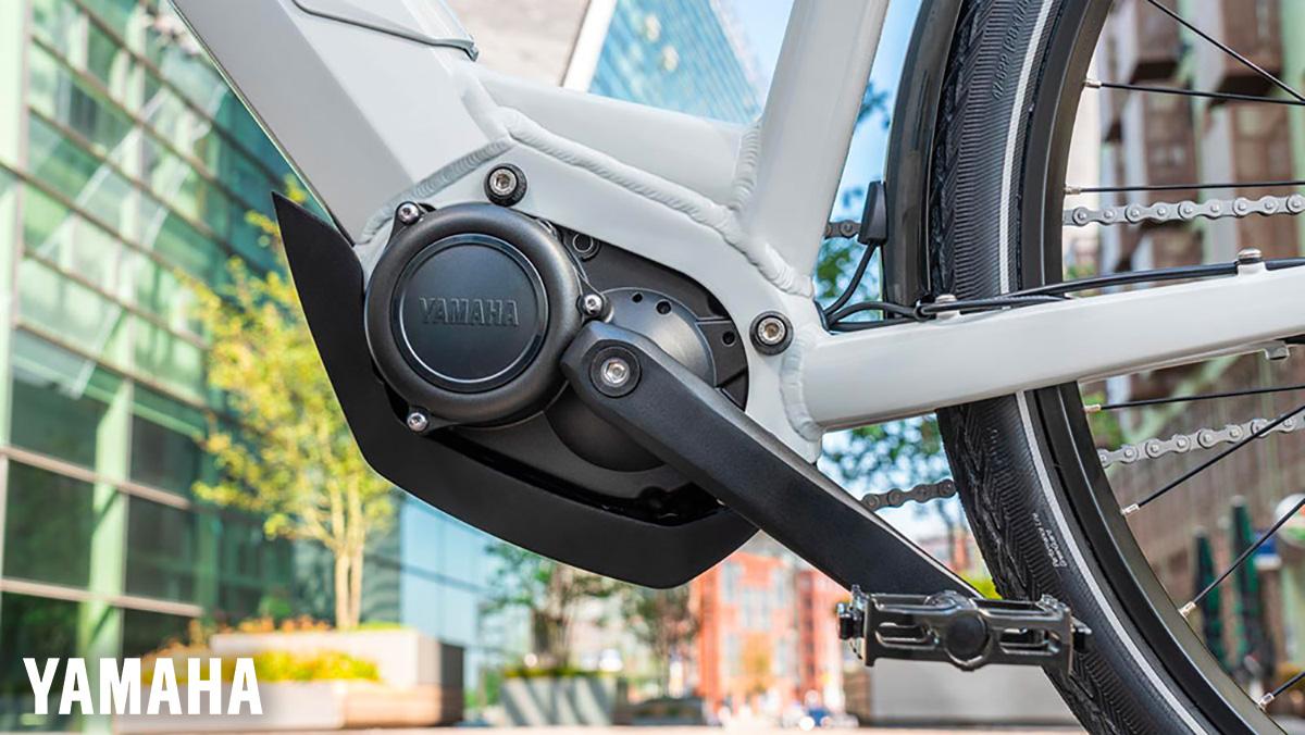 Il motore Yamaha Serie PW CE montato su una e-Bike
