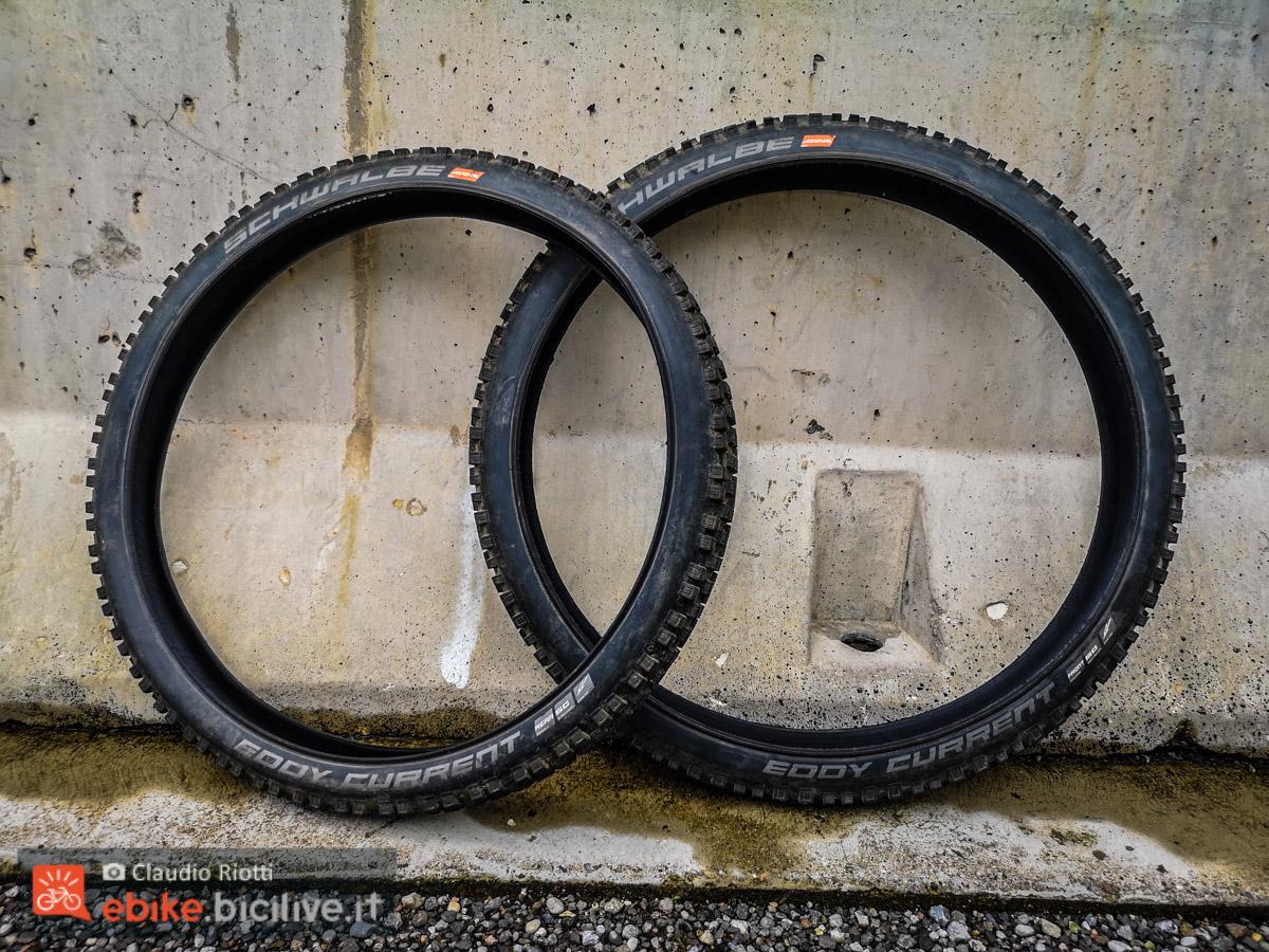Foto dei pneumatici Eddy Current per eMTB