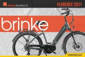 Brinke Florence 2021: nuova ebike per la città