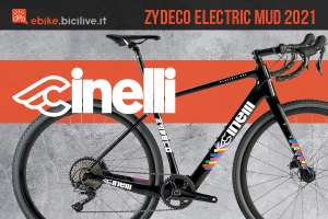 La nuova ebike da gravel Cinelli Zydeco Electric Mud 2021