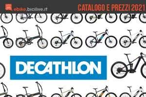Il catalogo e i prezzi dei modelli ebike 2021 di Decathlon